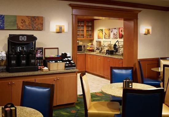 Oakville, كندا: Breakfast Area