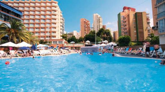 MedPlaya Hotel Regente: This is the picture of the hotel!!!