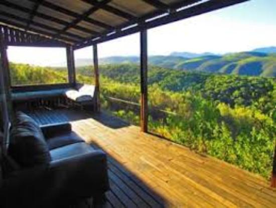 Plettenberg Bay Game Reserve: Magnificent view from your room