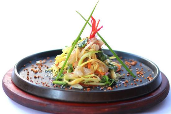 Seafood Hot Stone