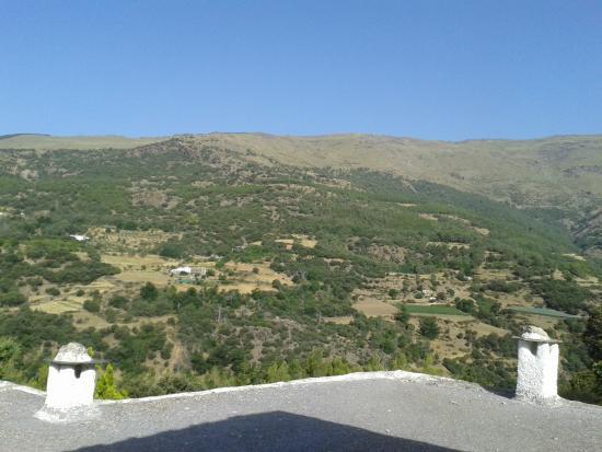 Busquistar, España: Vistas desde la terraza de nuestra habitación