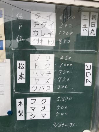 Tsukumi, Japón: 離島の魚介は、買いたたかれる? ブリ8キロ以上が、キロ250円!! つまり2000円