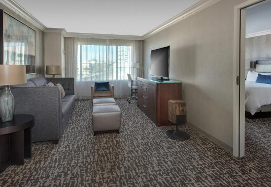 West Conshohocken, PA: Hospitality Suite Living Area
