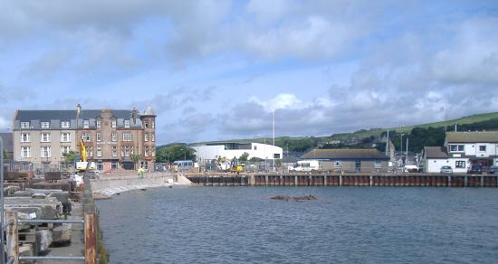 The Royal Hotel: Royal Hotel (works to the pier you can see are complete)