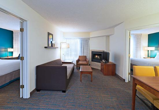 Stanhope, NJ: Two-Bedroom Suite - Living Room