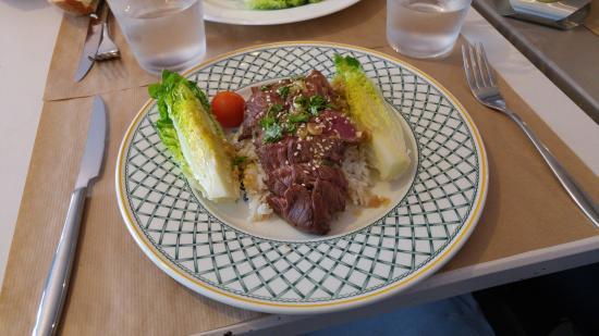 Restaurant l 39 etoile philante dans boulogne billancourt for Plat cuisine francaise