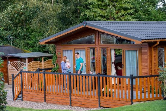 Blairgowrie Holiday Park: Lodge exterior
