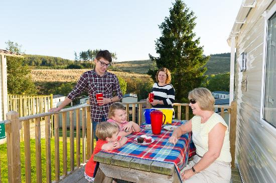 Corriefodly Holiday Park: 2 bedroom caravan holdiay home