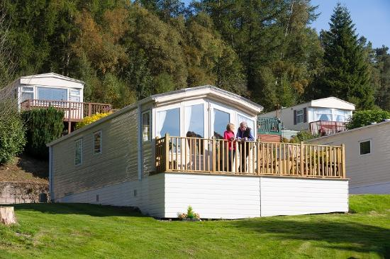 Blairgowrie, UK: Relaxing at your caravan holiday home