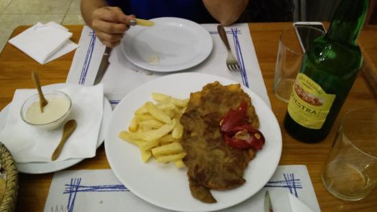 Bar Asturias: Cachopo de ternera