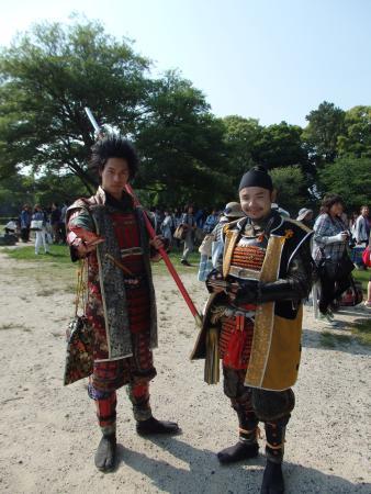 名古屋おもてなし武将隊, 前田慶次 474歳・豊臣秀吉 479歳