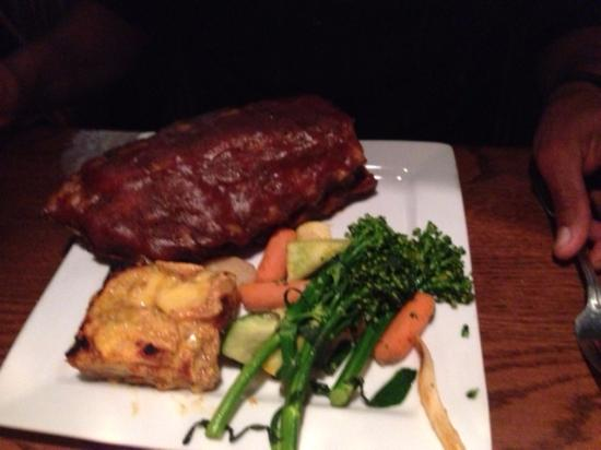 Vail Ranch Steakhouse : Rack of Ribs (doubled up)