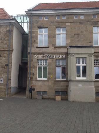 Hattingen, Allemagne : Eingang zum Stadtmuseum in Hattinen