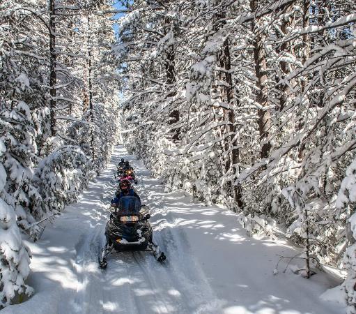 Olympic Valley, كاليفورنيا: Resort at Squaw Creek_Recreation_Snowmobiling