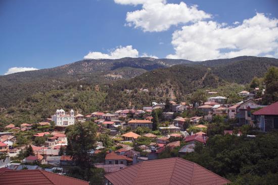 Педулас, Кипр: View from the restaurant