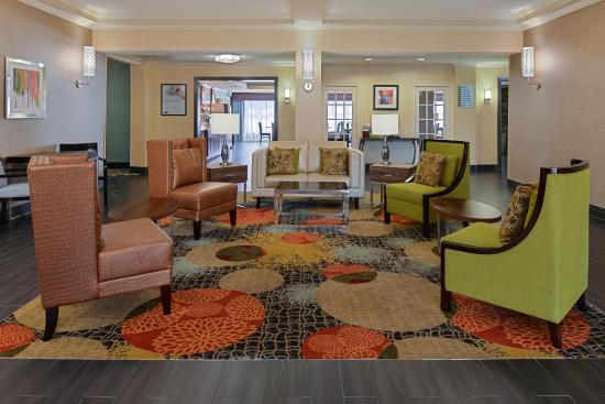 Hotel Lobby at the Holiday Inn Express Bessemer