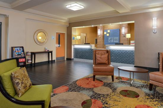 Welcoming Lobby Lounge at Holiday Inn Express Bessemer