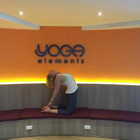 Yoga Elements Studio: It is a lovely space. Very warm and welcoming staff and space. AMAZING classes. If you can take