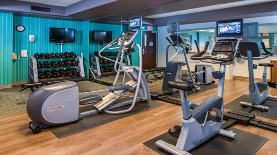 Sacramento Holiday Inn Express Woodland Fitness Center