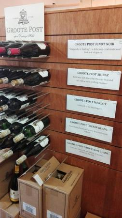 Darling, Sudáfrica: Best wine tasting in West Coast