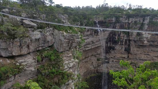 Port Shepstone, Sydafrika: Suspension Bridge