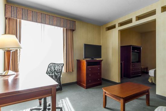 Quality Inn & Suites : King suite