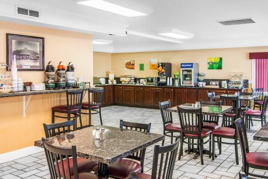 Roseburg, Орегон: Breakfast Area