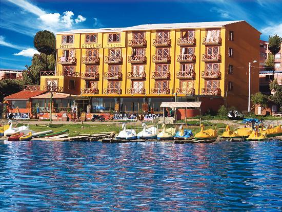 Hotel Estelar del Titicaca: fachada