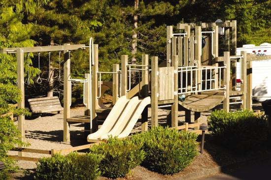 Welches, Oregón: Whispering Woods Playground