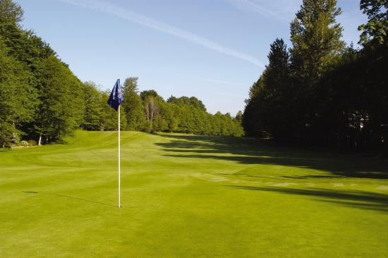 Welches, Oregón: Whispering Woods golf