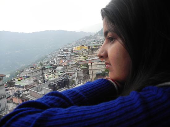 Hotel Nirvana Gangtok: view from room window