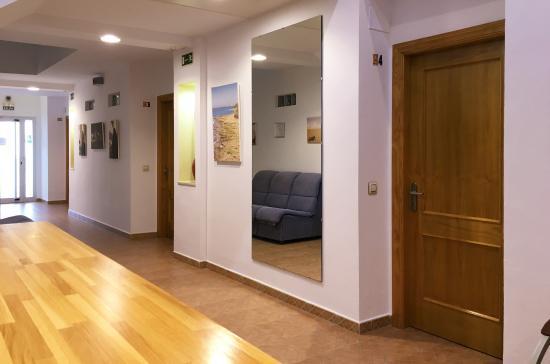 Hostaluz: Interior