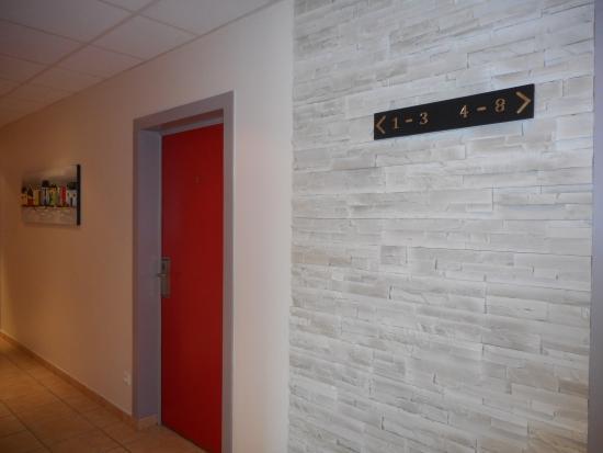 Hotel Salea: Couloir du Hall