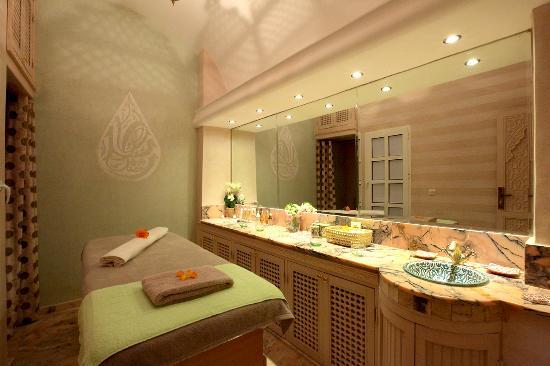 Le Riad Monceau: Cabine massage Riad Monceau