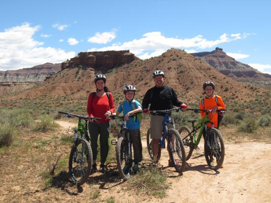 Springdale, Γιούτα: Mountain biking with Jack, JEM Trail
