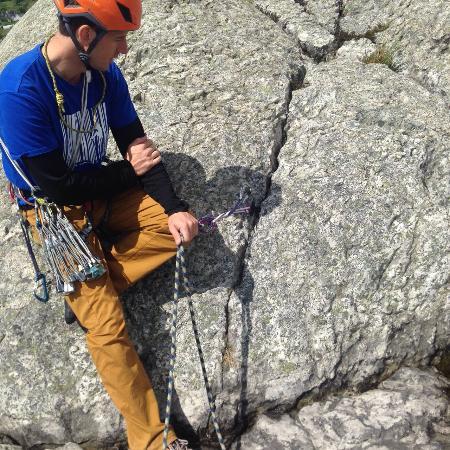 Terry James Walker Rock Climbing: intro course for rock climbing