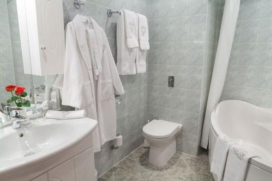 Tatiana Hotel : Bathroom