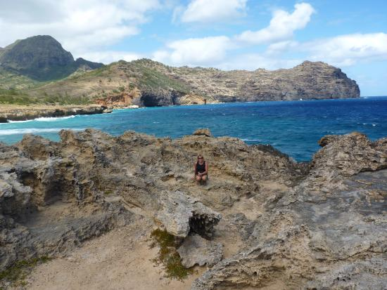 """Maha'ulepu Heritage Trail: End of hike where they filmed """"Pirates of the Caribbean"""""""