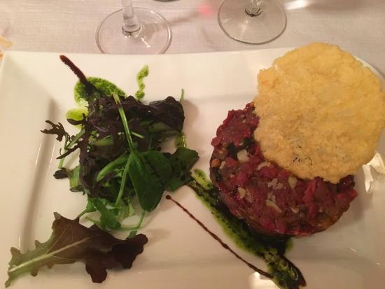 Cafe Restaurant des Voyageurs : Tartarre a l'italienne