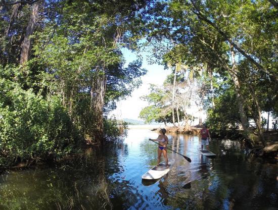 SUP at Punta Uva river