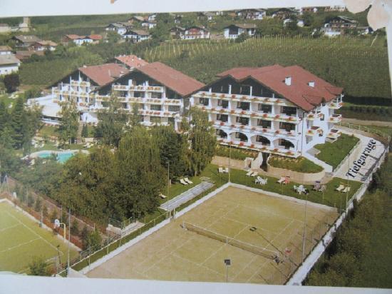 Wellness Parc Hotel Ruipacherhof: Tennisplatz am Wellness Ruipacherhof