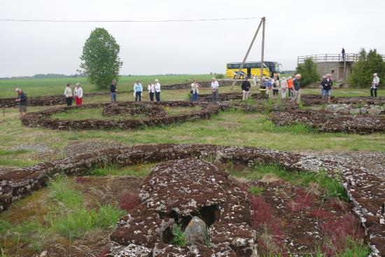Харьюмаа, Эстония: Bronsåldersgravfältet i Rebala    Harjumaa landskap