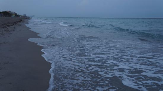 Hollywood Beach: Praia (entardecer)