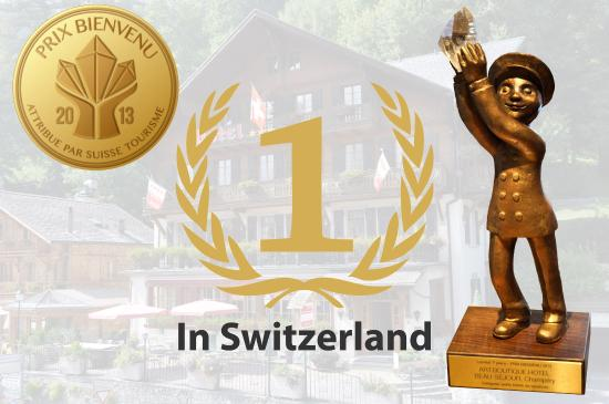 Champery, İsviçre: Deco