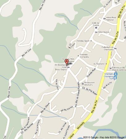 Champery, İsviçre: Location