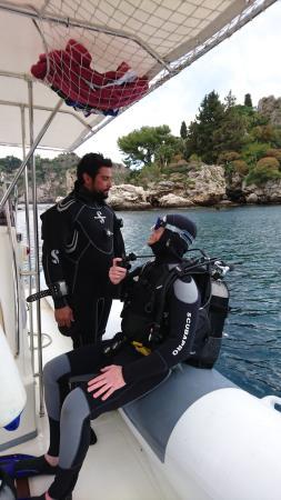 Giardini-Naxos, Włochy: Ready to go like a pro...