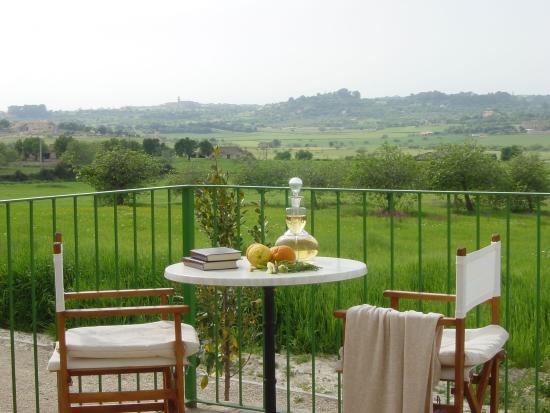 Lloret de Vista Alegre, Hiszpania: Apartment terrace