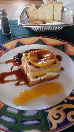 Isla Plana, España: Mille feuilles de foie gras