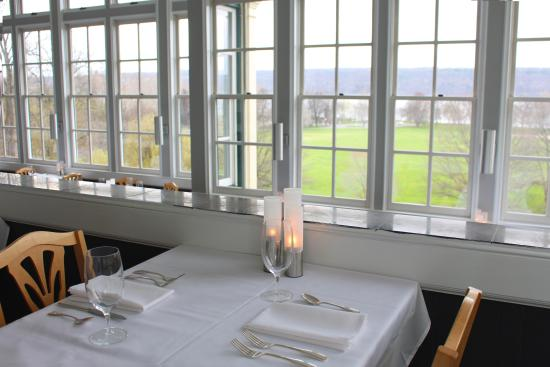 Trumansburg, NY: Dinner for two high above Cayuga's Water