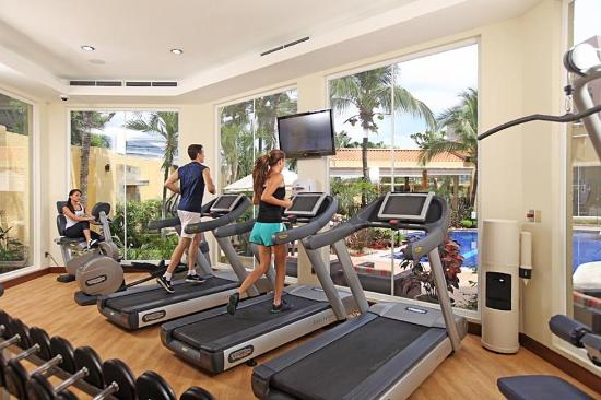 Real InterContinental San Pedro Sula at Multiplaza Mall: Fitness Center